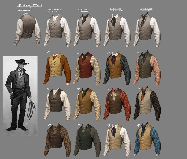 Vestuarios y personajes: Claire Hummel Concept Artist