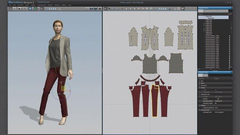 Programas diseño personajes 3D Marvelous Designer