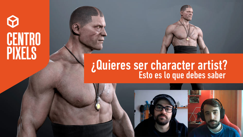 Character artist diseño personajes