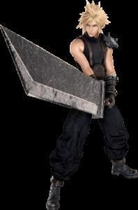 Cloud Strife Final Fantasy personaje videojuegos